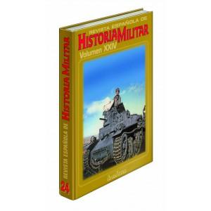 TAPAS TOMO 24 REVISTA ESPAÑOLA DE HISTORIA MILITAR