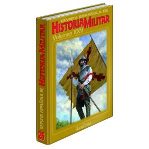 TAPAS TOMO 25 REVISTA ESPAÑOLA DE HISTORIA MILITAR