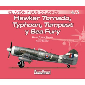 Hawker Tornado, Typhoon, Tempest y Sea Fury 4/3