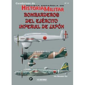 Cuaderno nº 12 Bombaderos del ejército imperial del Japón