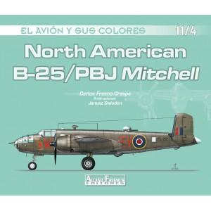 North American B-25/PBJ Mitchell 11/4