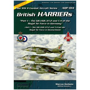 British Harriers Part 1 The Gr.1/Gr.3/T.2 and T.4 of the Royal Air Force in Germany