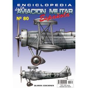 ENCICLOPEDIA DE LA AVIACIÓN MILITAR ESPAÑOLA 80
