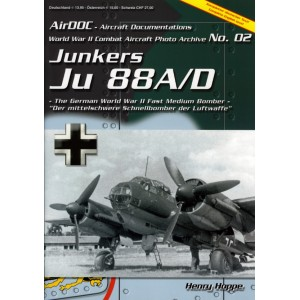 World War II Combat Aircraft Photo Archive. N.º 2 Junkers Ju 88A/D