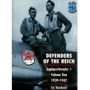 DEFENDERS OF THE REICH. Jagdgeschwader I. Voluma One 1939-1942