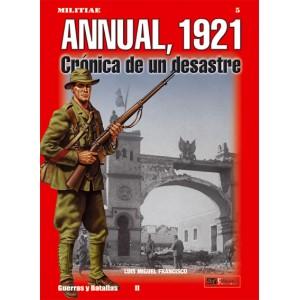 N.º 5 ANNUAL, 1921 Crónica de un desastre