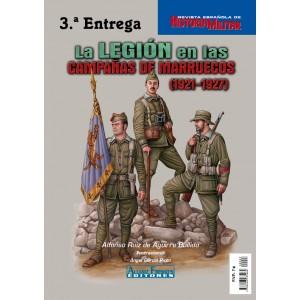 La LEGIÓN en las CAMPAÑAS DE MARRUECOS (1921-1927)