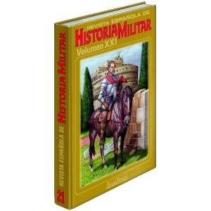 TAPAS TOMO 21 REVISTA ESPAÑOLA DE HISTORIA MILITAR
