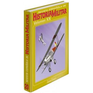 TAPAS TOMO 20 DE LA REVISTA ESPAÑOLA DE HISTORIA MILITAR