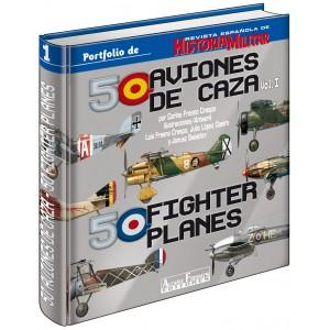 Tapas 50 Aviones de Caza Vol.I