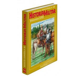 TAPAS TOMO 22 REVISTA ESPAÑOLA DE HISTORIA MILITAR