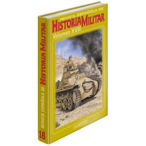 TAPAS TOMO 18 DE LA REVISTA ESPAÑOLA DE HISTORIA MILITAR