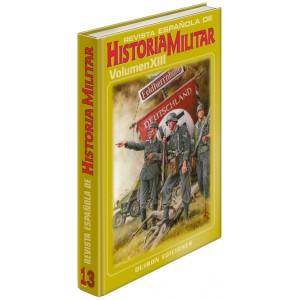 TAPAS TOMO 13 DE LA REVISTA ESPAÑOLA DE HISTORIA MILITAR