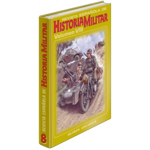 TAPAS TOMO 8 DE LA REVISTA ESPAÑOLA DE HISTORIA MILITAR