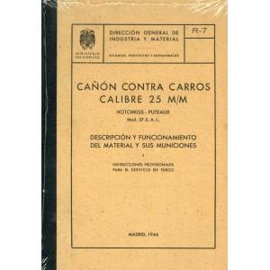 Cañón contra carros calibre 25 M/M