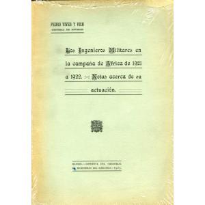 Los Ingenieros Militares en la campaña de Africa de 1921 a 1922