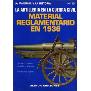 Material reglamentario en 1936