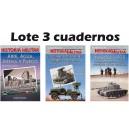LOTE CUADERNOS HISTORIA MILITAR