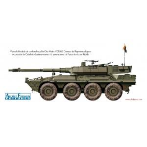 Vehículo blindado de combate VCR-105 Centauro