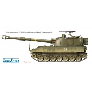 Obús autopropulsado 155/32 M109A1