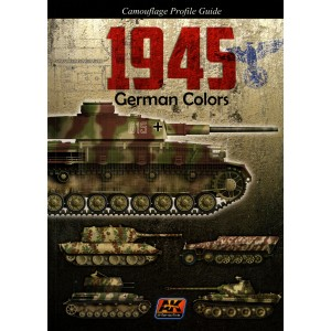 German Colors, Camouflage Profile Guide Vol. I