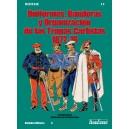 n.º 15 Uniformes, banderas y organización de las tropas carlistas 1872-76
